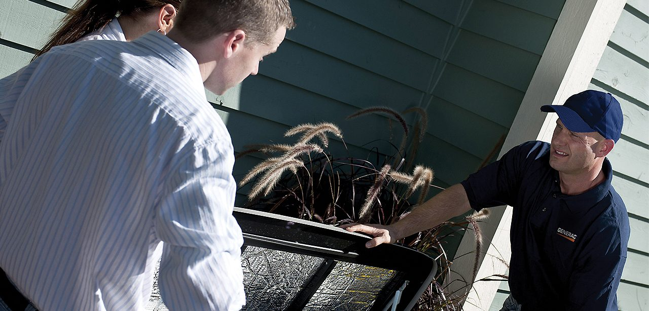A home after receiving home generator maintenance near Port St. Lucie, FL